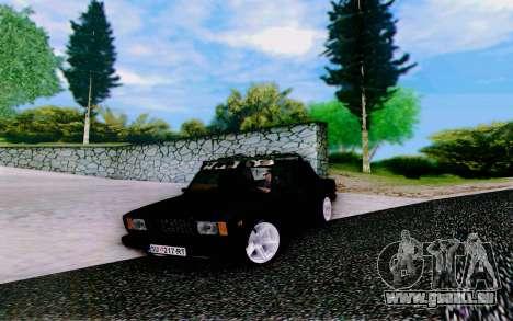 VAZ 2107 Riva pour GTA San Andreas vue de droite