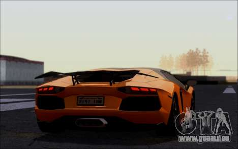 Lamborghini Aventador LP760-2 EU Plate für GTA San Andreas linke Ansicht