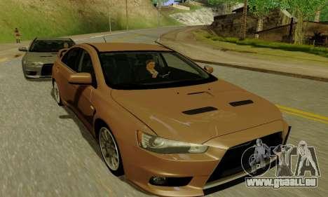 ENBSeries for Medium PC pour GTA San Andreas deuxième écran