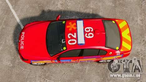 BMW M5 E60 Metropolitan Police 2010 ARV [ELS] pour GTA 4 est un droit
