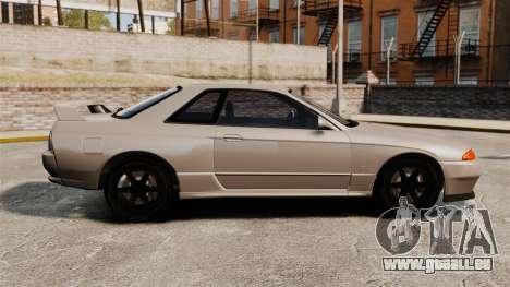 Nissan Skyline GT-R (R32) für GTA 4 linke Ansicht