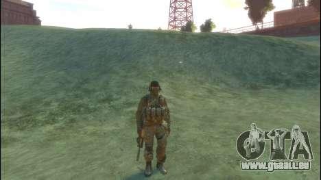 Un soldat russe v 2.0 pour GTA 4