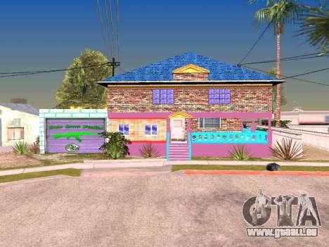 Texture de Karl House pour GTA San Andreas deuxième écran
