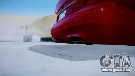 BMW 750 Li Vip Style für GTA San Andreas zurück linke Ansicht