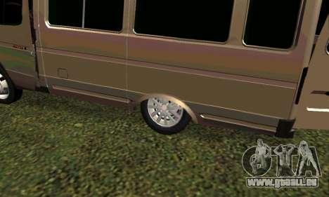 Gazelle Tuning pour GTA San Andreas laissé vue