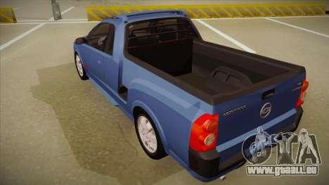 Chevrolet Montana Sport 2008 pour GTA San Andreas vue arrière