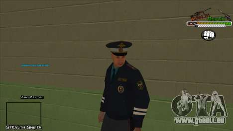 SAPD Pak skins für GTA San Andreas sechsten Screenshot