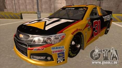 Chevrolet SS NASCAR No. 31 Caterpillar für GTA San Andreas