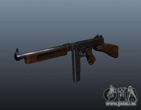 M1a1 Thompson submachine gun v2 pour GTA 4
