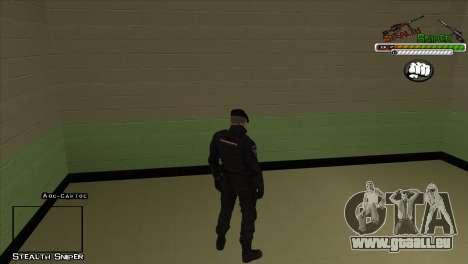 Peaux SAPD Pak pour GTA San Andreas deuxième écran