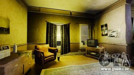 Nouvelles textures dans le premier appartement d pour GTA 4 secondes d'écran