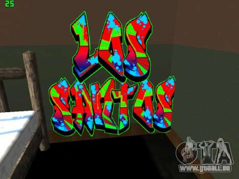 Graffity mod für GTA San Andreas dritten Screenshot