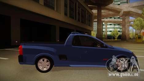 Chevrolet Montana Sport 2008 pour GTA San Andreas sur la vue arrière gauche