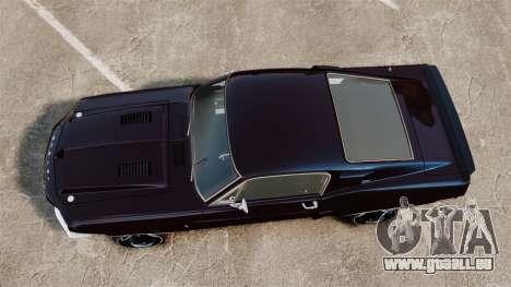Shelby GT500 pour GTA 4 est un droit