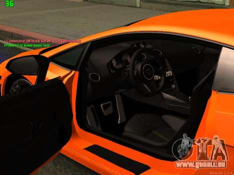 Lamborghini Gallardo LP560-4 SL UGR Altecho für GTA San Andreas Rückansicht