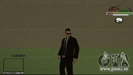 Peaux SAPD Pak pour GTA San Andreas huitième écran