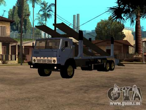 Camion KAMAZ 43085 pour GTA San Andreas