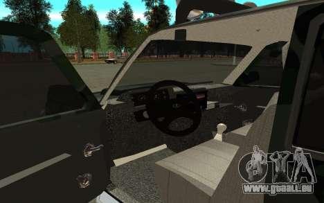VAZ 21213 pour GTA San Andreas vue arrière