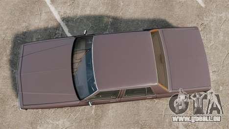 Chevrolet Impala 1985 pour GTA 4 est un droit