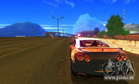 ENBSeries by AVATAR V2 pour GTA San Andreas deuxième écran