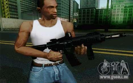 MK107 PDW für GTA San Andreas her Screenshot