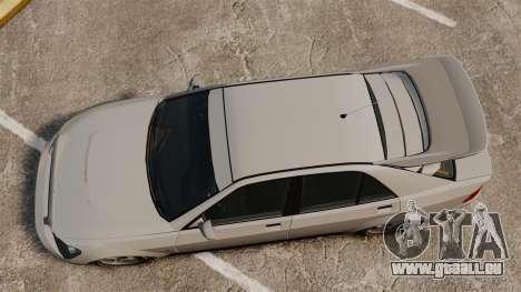Mis à jour le Sultan pour GTA 4 Vue arrière de la gauche