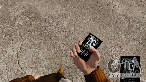 Themen für Handy-Marken-Bekleidung für GTA 4 Sekunden Bildschirm