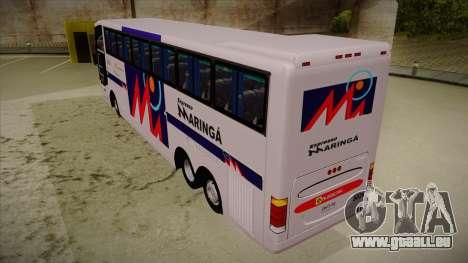 Busscar Jum Buss 400 P Volvo pour GTA San Andreas vue arrière