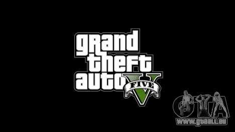 Menu et boot images dans le style de GTA V pour GTA 4 secondes d'écran