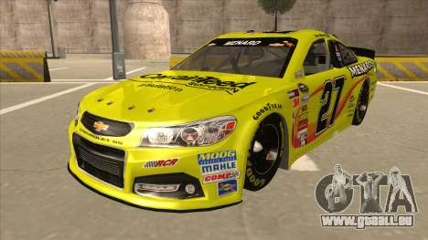 Chevrolet SS NASCAR No. 27 Menards pour GTA San Andreas