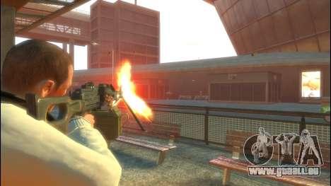 PKP petchenègue mitrailleuse pour GTA 4 secondes d'écran