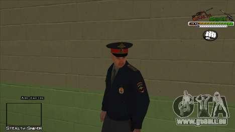 SAPD Pak skins für GTA San Andreas neunten Screenshot