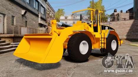 Radlader Caterpillar 966 g VR für GTA 4 Rückansicht