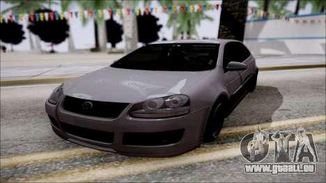 Volkswagen Golf GTI für GTA San Andreas