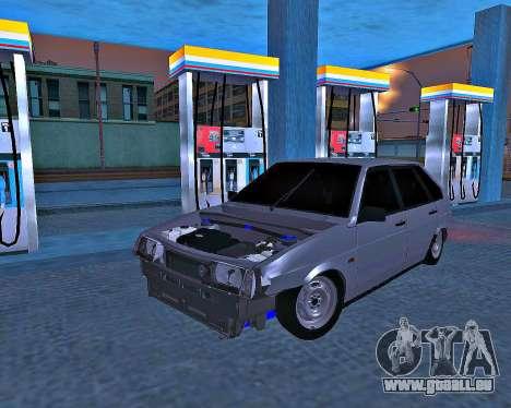 VAZ 2109 gebrochen für GTA San Andreas
