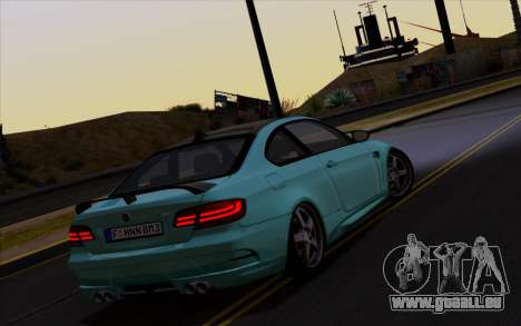 BMW M3 Hamann pour GTA San Andreas vue de droite