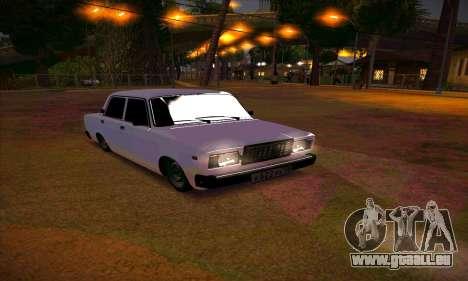 VAZ 2107 Drain planté pour GTA San Andreas
