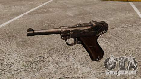 Pistole Parabellum v1 für GTA 4 dritte Screenshot