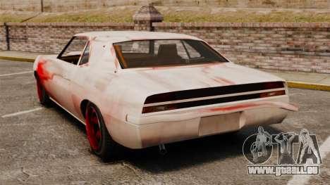 Neue Farbgebung für rostige Vigero für GTA 4 hinten links Ansicht