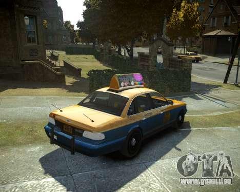 GTA V Taxi für GTA 4 linke Ansicht