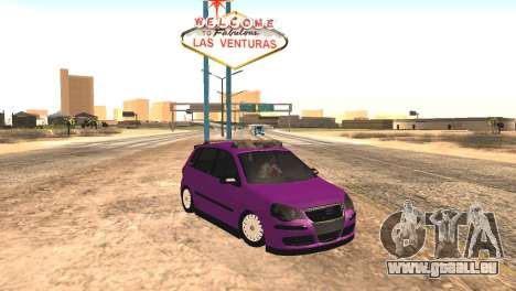 Volkswagen German Polo für GTA San Andreas