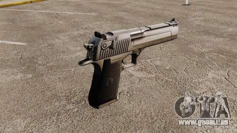 Desert Eagle Pistole für GTA 4 Sekunden Bildschirm
