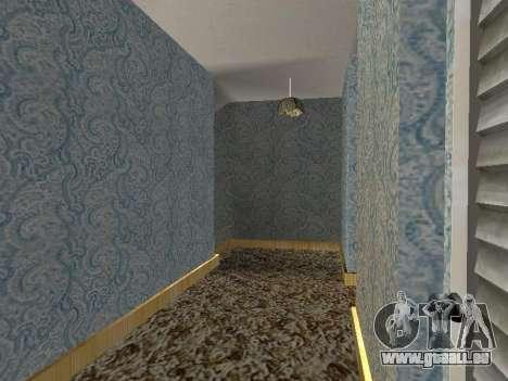 Innen 2-stöckige Neubau CJ für GTA San Andreas zehnten Screenshot
