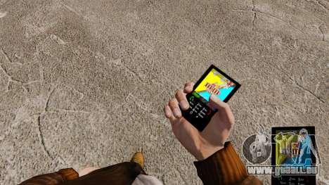 Thèmes pour les barres de sucrerie de téléphone pour GTA 4 secondes d'écran