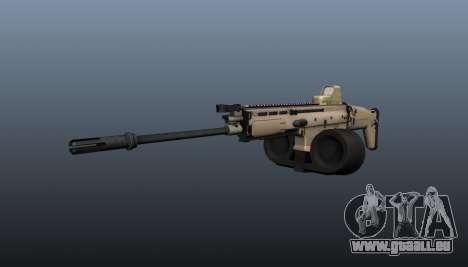 FN SCAR-H-Maschinengewehr LMG für GTA 4