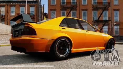 Berline Sultan RS pour GTA 4 est une gauche