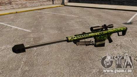 Le Barrett M82 sniper rifle v4 pour GTA 4 troisième écran