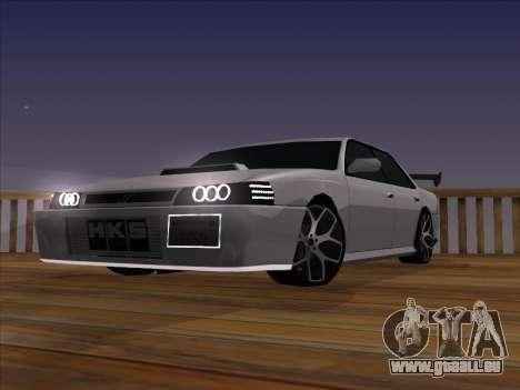 New Sultan pour GTA San Andreas vue de droite