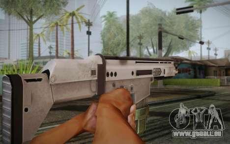 FN Scar pour GTA San Andreas troisième écran