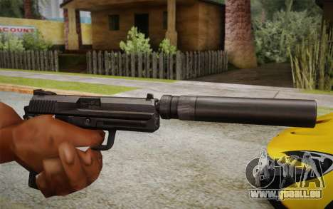 USP45 mit Schalldämpfer für GTA San Andreas